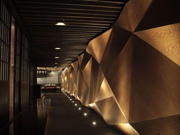 Interiores origami